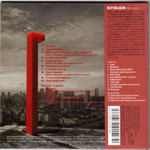 *Special Limited Japanese CD Edition* STOLEN – Fragment